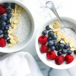 Coconut Chia Pudding - Light, healthy, creamy chia pudding with a touch of coconut flavor. Naturally sweetened and gluten-free.