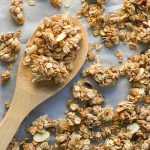 Honey Nut Granola - Crisp, hearty clusters of naturally sweetened, gluten-free, and dairy-free granola.